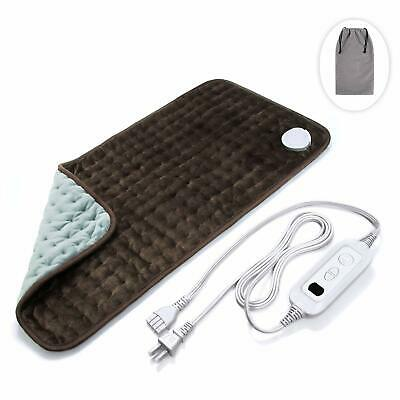 Veken Electric Heating Pad with Fast Heating Technology Moist Dry Heat Auto Off