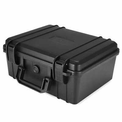 US Waterproof Shockproof Hard Carry Case Bag Tool Storage Box Portable Organizer