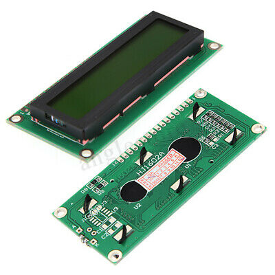 2 Pcs 1602 16x2 Character LCD Display Module HD44780 Controller for Arduino
