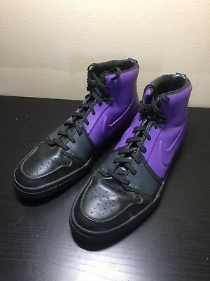 separation shoes fc7e0 37802 Nike Basketball SNEAKERS Shoes Air Royal Mid VT Mens 12 Purple Black  395757-004