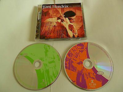 JIMI HENDRIX - Live At Woodstock (2CD 1999)