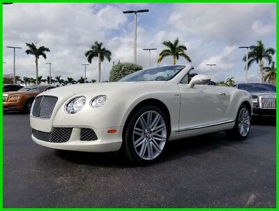 2014 Bentley Continental GT Speed 2014 Speed Used Turbo 6L W12 48V Automatic AWD Premium