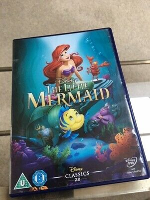 The Little Mermaid (DVD, 2013) no scratches but used