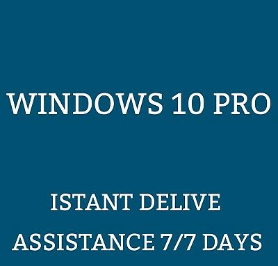 Windows 10 Pro - Licenze  ESD 32/64 Bit - garanzia a vita-SOFTWARE ORIGINALE