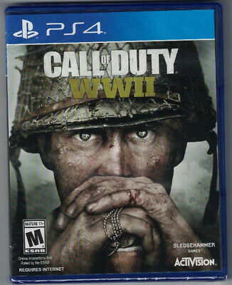 Call of Duty: WWII for Sony Playstation 4 - New and Sealed!