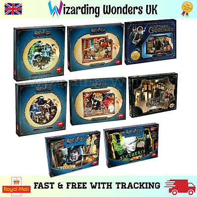 Official Harry Potter Fantastic Beast Jigsaw Puzzle Hogwarts Quidditch Gift