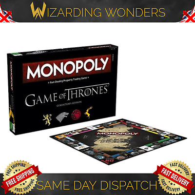 Official Game Of Thrones Friends Lord Of The Rings Monopoly Board Game Gift