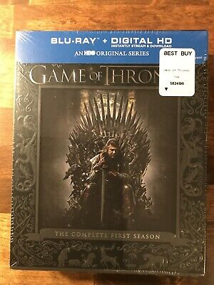 Game of Thrones: The Complete First Season Gift Box (Blu-ray Factory Sealed)