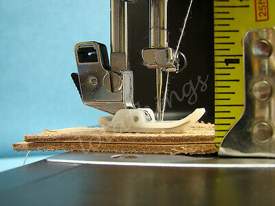 INDUSTRIAL STRENGTH SEWING MACHINE WALKING FOOT SEWS 16oz LEATHER & UPHOLSTERY