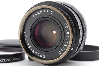 """Near Mint"" Voigtlander Color Skopar 50mm F/2.5 Lens for Leica M From Japan C115"