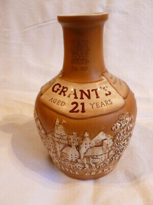 Royal Doulton Grant's 21 Year Blended Scotch Whisky Jug -  Made In Scotland