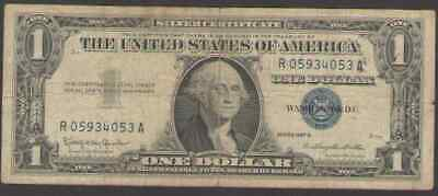 US. 1957, 1957A or 1957B. $1.00 Silver Certificate. Circulated.