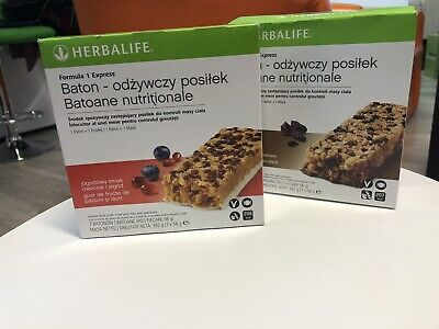Herbalife F1 Express Bar Two Flavor Available Chocolate And Berry