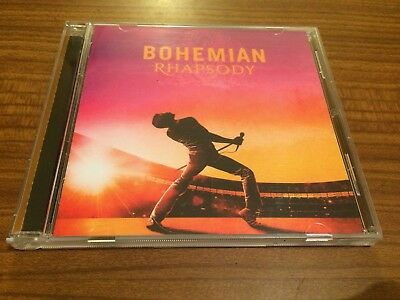 ORIGINAL SOUNDTRACK Bohemian Rhapsody QUEEN CD 2018 NEW Sealed Brian May