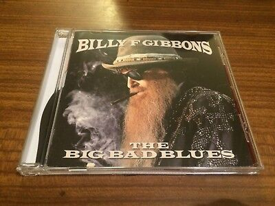 BILLY GIBBONS The Big Bad Blues CD 2018 NEW Sealed ZZ Top