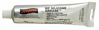 Jet-Lube 32460 MP Silicone Grease Translucent 5.3 oz Squeeze Tube *Free Shipping