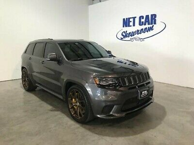 2018 Jeep Grand Cherokee  2018 JEEP GRAND CHEROKEE TRACKHAWK  HRE WHEELS KOOKS EXHAUST LOTS OF EXTRAS