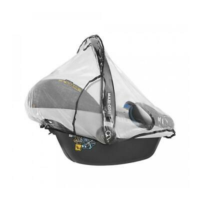 Maxi-Cosi Baby Car Seat Raincover, Transparent and Ventilated, 0-12 Months