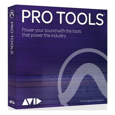 Avid Pro Tools 2018 new perpetual full unregistered license e-delivery