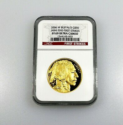 2006 $50 1 Ounce Gold American Buffalo Coin