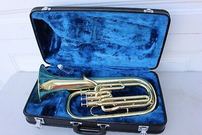 Musical Instruments & Gear Brass Yamaha Alto Horn Yah-202 From Japan Used #916