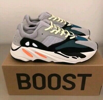 c5e36b53d1673 Adidas Yeezy Boost 700 WAVE RUNNER Size 12 Mens. Authentic (Used twice).
