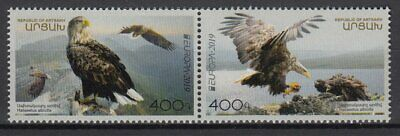 ARMENIA KARABAKH 2019 EUROPA CEPT NATIONAL BIRDS .Set 2 stamps MNH (PRE-ORDER)