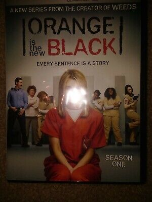 Orange Is the New Black: Season One (DVD, 4-Disc Set) WITH DIGITAL DOWNLOAD