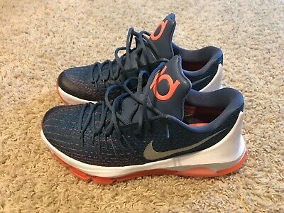 4fe57f7acfb3 Mens Nike KD 8 Size 10 Basketball Shoes Kevin Durant Excellent Condition  Low Cut