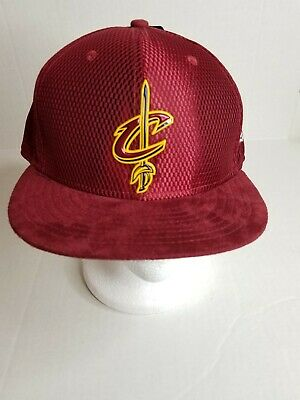 6b2bcd5975478b Cleveland Cavaliers NBA New Era Burgundy 59Fifty Fitted Hat Sz 7 5/8 Cap NEW