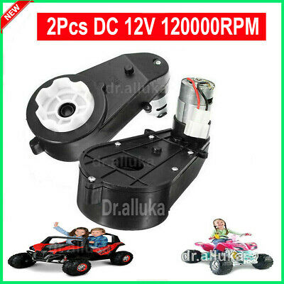 12V DC Motor Gearbox Traxxas and Power Wheels High Speed Electric Car Children