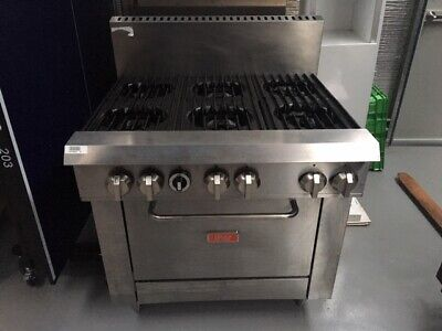 Thor 6  Burner stove with Oven