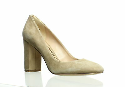 724bf33be SAM EDELMAN WOMENS Stillson Oatmeal Suede Pumps Size 7.5 (213577 ...