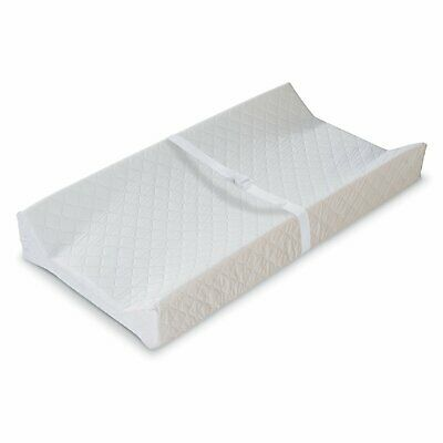 NEW Summer Infant Contoured Changing Pad, White USA SELLER - TRUSTED - FAST SHIP