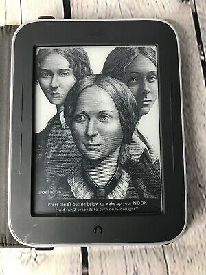 Barnes & Noble Nook Simple Touch GlowLight 2GB, Wi-Fi, 6in Used- Black case
