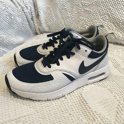 BOYS YOUTH NIKE AIR MAX VISION(GS) ATHLETIC SNEAKERS 6Y #917857 Navy Air Bubble