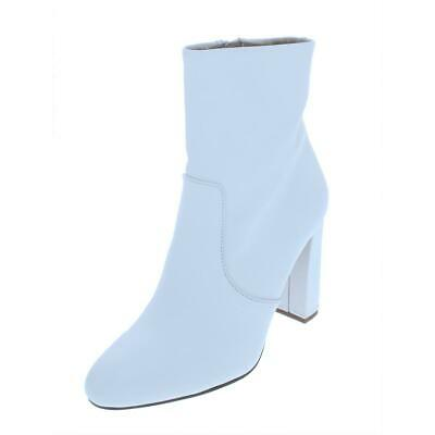 9a9790a02e7 Like us on Facebook · Steve Madden Womens Editor White Booties Shoes 9.5  Medium (B