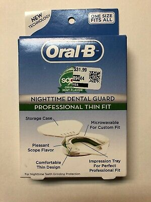 Oral-B Plus Scope Nighttime Dental Guard - One Size Fits All - New Technology