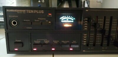 Vintage AudioControl Series Two Ten Plus Stereo Octave Equalizer