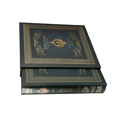 """Retro Large 6"""" X 4"""" Photo Album with 200 Pockets Holiday Weddin Memories Images"""