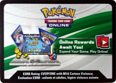 Pokemon online TCGO  Sun And Moon Guardians Rising booster tcg codes