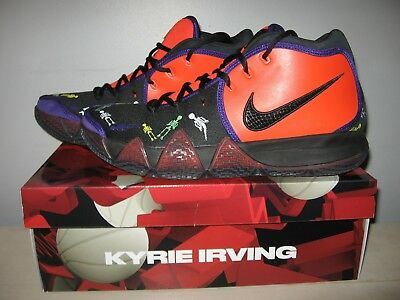 3045c2560315 NIKE KYRIE IRVING 4 IV Day Of The Dead DOTD TV PE 1 Sz 11 Preowned ...