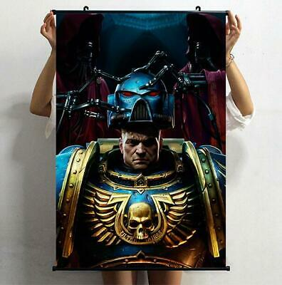 For Warhammer Milky Way Star Warrior Room Decoration Painting Gothic Game Poster