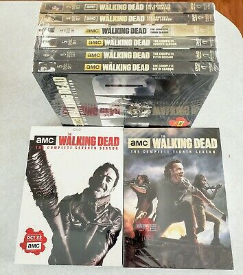 The Walking Dead The Complete Series Seasons 1-8 (DVD Set) NEW / SEALED