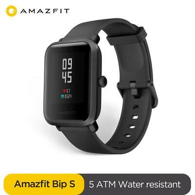 Global XIAOMI Huami Amazfit Bip GPS IP68 HeartRate Smart Watch Wristband Black