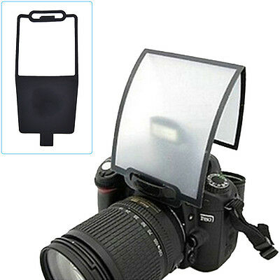 Flash Diffuser Softbox Black Clear Reflector for Canon Nikon Yongnuo SpeedliteBS