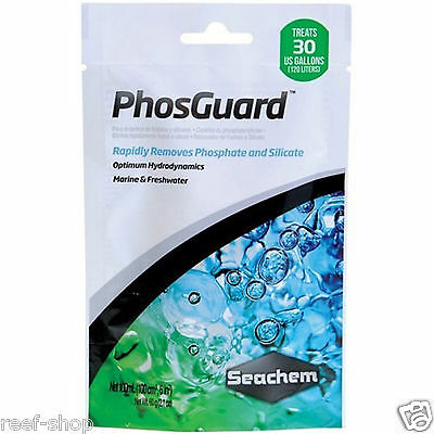 Seachem PhosGuard 100mL Removes Phosphate and Silicate Aquarium Filter Media