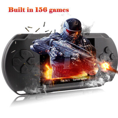 16 Bit 156 Games PXP Handheld TV Video Game Console Game Player Gift for Kids