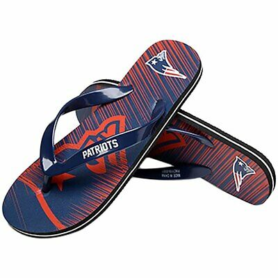 e3215f5b4b6f0c New England Patriots Flip Flops Sandals Unisex Water Shoes Mens Womens NFL