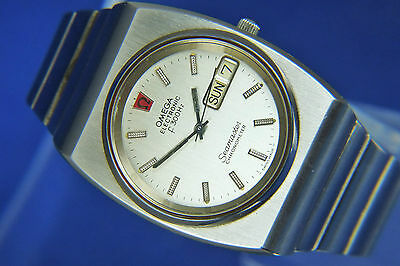 Vintage Omega Seamaster Chronometer F300hz Electronic Watch Circa